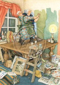 29 Ideas Illustration Art Funny Inge Look Art And Illustration, Old Lady Humor, Nordic Art, Image Originale, Whimsical Art, Old Women, Illustrators, Fantasy Art, Art Paintings