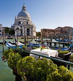 Enjoy the prime location of this hotel, situated on the Grand Canal. #Italy