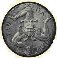 Ancient symbol of Trinacria (Sicily)