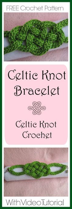 Just in time for St. Patrick's Day, this Celtic Knot Bracelet is a great project for beginners and experienced crocheters alike. It uses a small amount of yarn and some simple jewelry techniques. I created this design in honor of National Crochet Month in 2014 and it has been one of our most popular patterns. New this year are several videos to go with each step of the project – all are marked with red text. I think you[Read more]