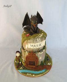 Ako vycvičiť draka je krásna rozprávka a torta je ešte krajšia. Autorka: Bezzubka. Tortyodmamy.sk