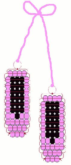 ballet shoe beads going to make this Pony Bead Patterns, Beaded Jewelry Patterns, Perler Patterns, Bracelet Patterns, Beading Patterns, Ballet Crafts, Dance Crafts, Pony Bead Projects, Pony Bead Crafts