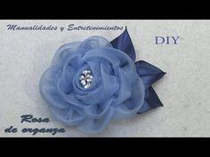 Diy Lace Ribbon Flowers, Cloth Flowers, Fabric Ribbon, Fabric Flowers, Paper Flowers, Ribbon Crafts, Flower Crafts, Free Beading Tutorials, Handmade Statement Necklace