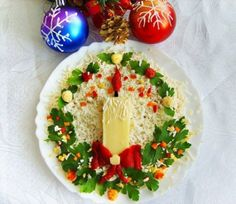 25 ideas on how to make delicious appetizers and hors d& .- 25 ideas on how to make delicious appetizers and Christmas appetizers - Creative Christmas Food, Creative Food, Simple Christmas, Creative Ideas, Christmas Salad Recipes, Christmas Appetizers, Holiday Recipes, Christmas Goodies, Christmas Treats