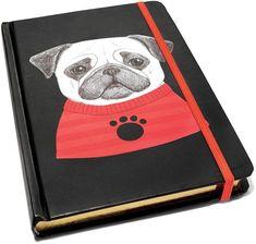 Celebrate Shop Pug NotebookEdit description #affiliate link