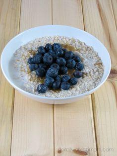 Easy Breakfast Oatmeal - Do It All Working Mom