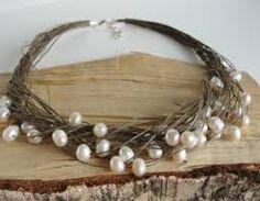 Картинки по запросу necklace handmade linen cord