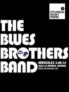 Entradas para The Blues Brothers Band en Madrid el 3 de septiembre 2014 en notikumi