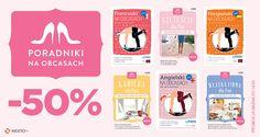 Z okazji Dnia Kobiet Wydawnictwo Lingo i Nexto.pl zaprasza na promocję Poradników na Obcasach!  #ebook #poradniki #kobieta #pieniądze #finanse #kariera #8m