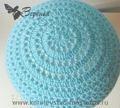 http://handwork-art.tumblr.com Girth of head: 50 cm Yarn: willow Semenovsky yarn (50% cotton, 50% viscose, 430 m/100 g). Hook: №2.5 and 1.5 Description: Summer hat crochet for girls Start knitting the...