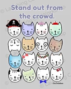 Funny cat art Positive Inspirational Children's Quote Art Psychology print Back to School Counselors School Nurse Wall Art Teachers Kids Classroom Decor Educational Mental Health art Inspirational Quotes For Kids, Funny Quotes For Kids, Education Quotes For Teachers, Quotes For Students, Art Psychology, High School History, Look Man, Ipad, Thing 1
