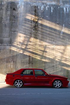 Alfa Romeo 75 Evoluzione #Alfa #AlfaRomeo #italiandesign