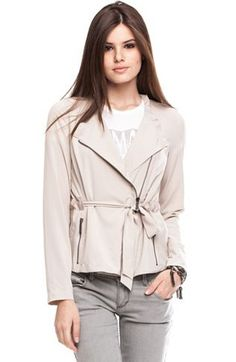 Relaxed Biker Jacket - Jackets & Blazers - Womens - Armani Exchange $99