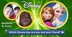 Which Disney duo are you and your friends?