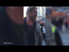 Watch Chris Hemsworth crash interview with Thor director