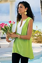 Womens Silk Tops, Lace Tops, Silk Blouses - Soft Surroundings