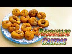 rosquillas caseras al estilo santiago y sus ideas - dulces típicos