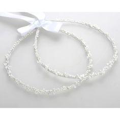 Στέφανα Γάμου Χειροποίητα Στολισμένα Πορσελάνινα Λευκά Λουλούδια Wedding Stuff, Bracelets, Silver, Jewelry, Jewlery, Jewerly, Schmuck, Jewels, Jewelery