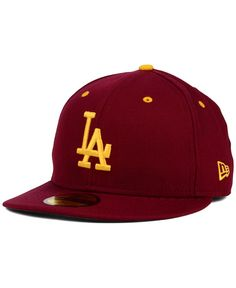 New Era Los Angeles Dodgers Team Color 59FIFTY Cap Men - Sports Fan Shop By  Lids - Macy s 429175e10263