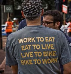 #bike shirt :: bike to work