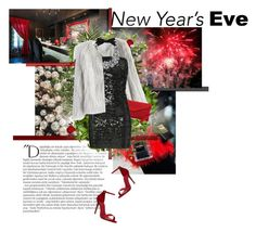 """""""NYE Dance Party"""" by l-kurdiovska ❤ liked on Polyvore featuring Balmain, Schutz, Boskke, Nearly Natural, LSA International, Laura Cole, Chicwish, OKA, Faith Connexion and J.Crew"""
