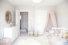 Baby Perfect Rose and Gold - by http://home-styling.blogspot.pt