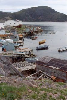 The isolated community of McCallum is probably most reminiscent of the typical Newfoundland outport that would have existed prior to the 1900's. Access to McCallum is by air or boat only. The community is approximately a 90 minute ferry ride from Hermitage and the ferry runs once a day. The community is situated in a relatively enclosed harbour situated between two hills sheltering it from the rough Atlantic Seas. Travel around the community is primarily by foot.