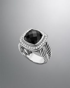 Albion Ring, Black Onyx, 11mm by David Yurman