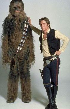 Star Wars - Chewbacca & Han Solo promo pic