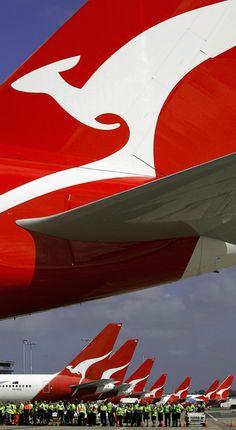 Qantas Welcomes The Airbus A380