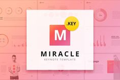 Miracle Modern Keynote Template by on Envato Elements Business Brochure, Business Card Logo, Company Brochure, Presentation Design Template, Design Templates, Presentation Layout, Powerpoint Tutorial, Design Typography, Photoshop