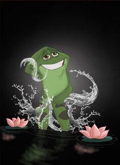 Disney Heroes-Frog Naveen