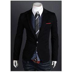 Men's Casual Blazer (More Colors!) - $24.99
