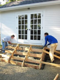 New Stairs The Hubby Can Help With?!?! A Country Farmhouse: Outdoor