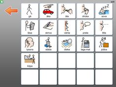 Widgit Go SE - Symbolbruket Learn Swedish, Swedish Language, Learning, Tips, Cards, Studying, Teaching, Maps, Playing Cards