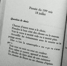 """""""Little evening philosophy: 365 positive thoughts to be happy every ."""" By Catherine Rambert Book Quotes, Words Quotes, Me Quotes, Motivational Quotes, Inspirational Quotes, King Quotes, Sayings, French Words, French Quotes"""