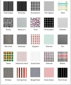 Fabric And Textile Pattern Encyclopedia - Pattern Dictionary