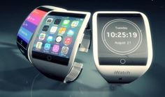 Apple iWatch concept; although, Apple could have been first to the wearable market of they had been smart with their 6th generation nano.
