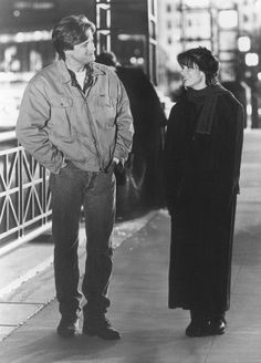 """Sandra Bullock and Bill Pullman in """"While You Were Sleeping"""" — This movie was so perfectly cast, even the secondary characters were adorable."""