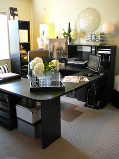 High Quality Décoration De La Maison: Modern Home Office   Part 1