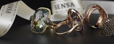 SENSA designs jewellery of elegance for all occasions using a combination of precious metals and stones sourced from all corners of the world. Jewellery Rings, Precious Metals, Diamond Earrings, Jewelry Design, Wedding Rings, Mood, Engagement Rings, Stone, Collection