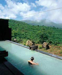 Sukawa hot spring, Akita, Japan 須川温泉