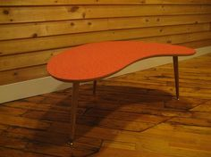 50s Style Boomerang Coffe Table By MillworksHotRod On Etsy, $184.99