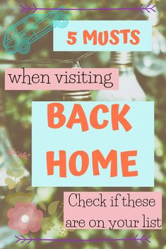 5 Top Musts When you Visit your Home from College - The Traveling Choir Girl Go Hiking, Child Day, New Career, Get Excited, What Is Life About, Study Abroad, Best Memories, Blogging For Beginners, Choir