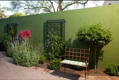 Metal Wall Screen for the Fence Idea !!