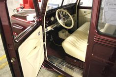 1946 WILLYS OVERLAND CUSTOM WAGON - Interior - 49550