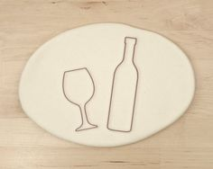 Wine glass and bottle cookie cutters! These would be perfect for a wine/winery themed shower or wedding! Or a wine tasting party!