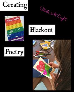 Creating Blackout Poetry