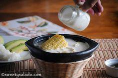Ajiaco (Colombian Chicken and Potato Soup) // Ajiaco Santafereño