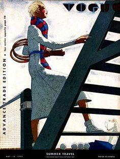 Vogue: vintage cover of Vogue